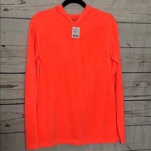 Urban outfitters fluorescent pink NWT hooded Tee